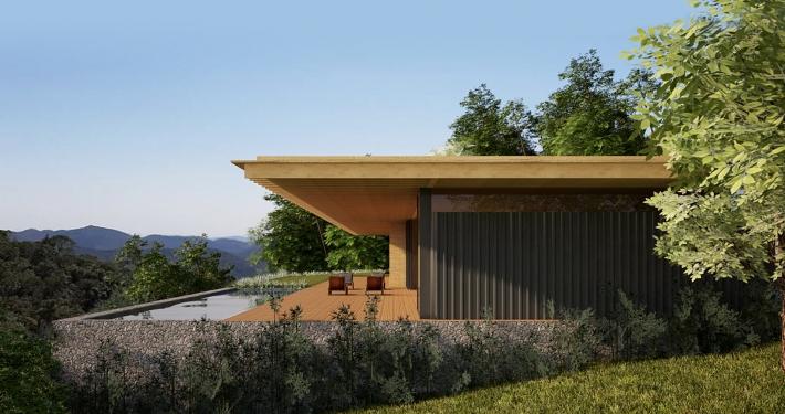 Casa Lumiar - vista lateral