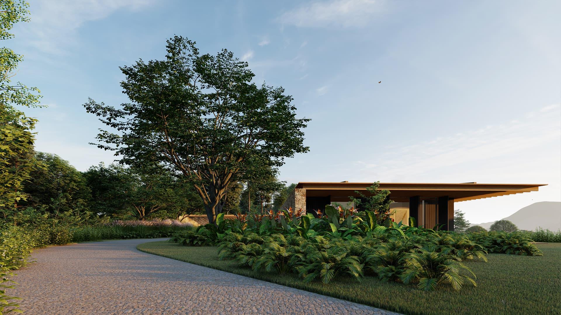 Casa Forte Sabella Arquitetura São Francisco Xavier - entrada social