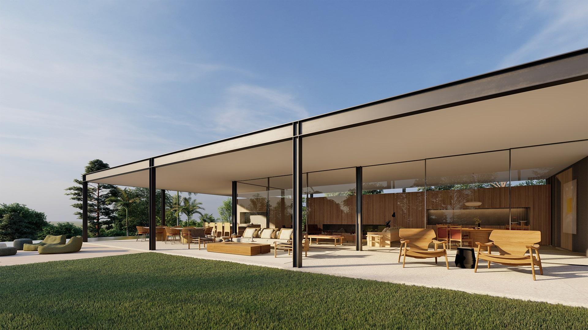 Casa Quero 11 - Vista Lateral