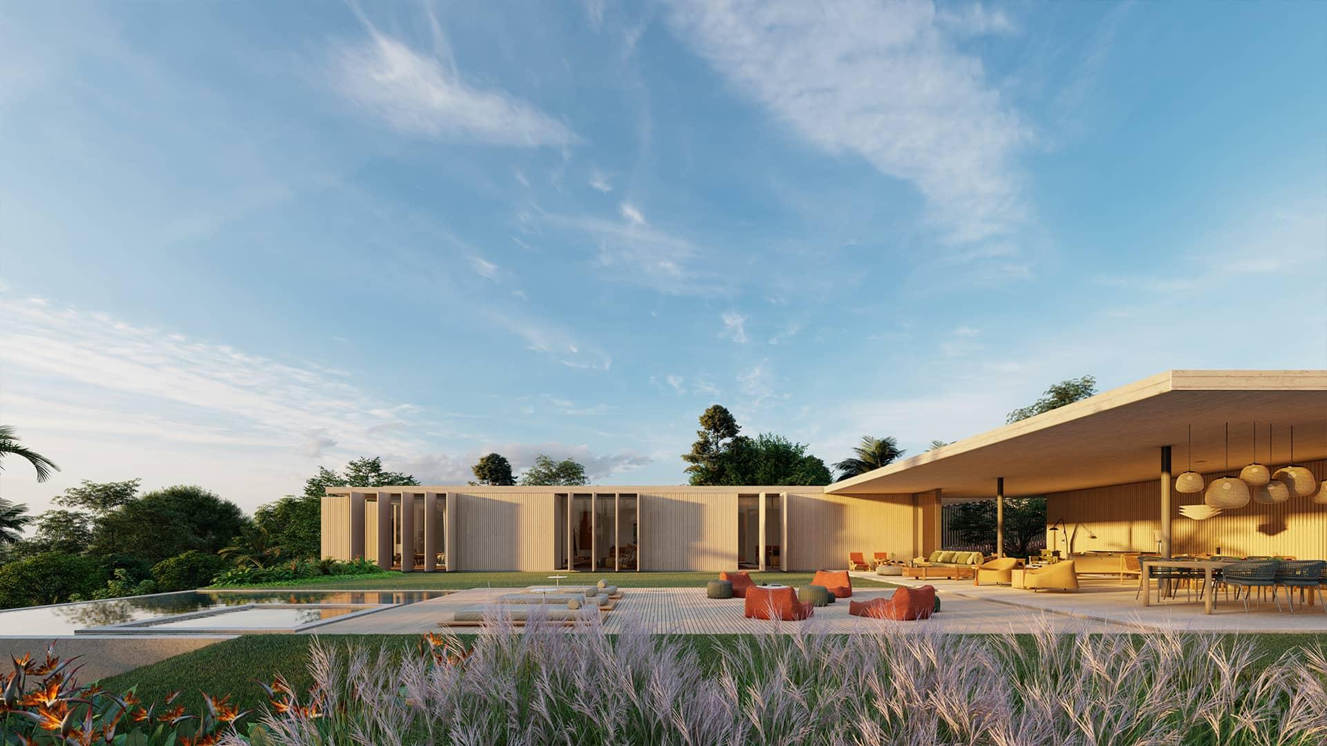 Sabella Arquitetura - Casa Concreto vista quartos