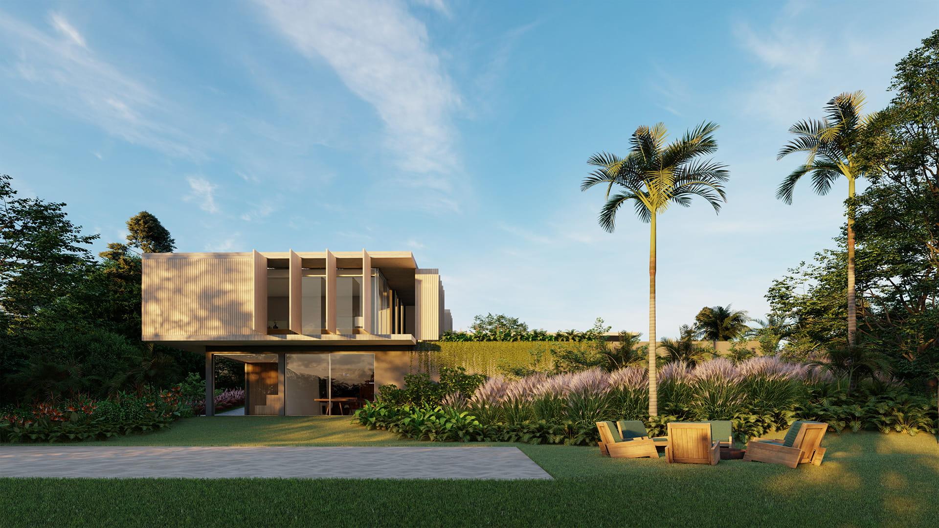 Sabella Arquitetura - Casa Concreto vista lazer