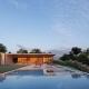 Sabella Arquitetura - Casa Concreto vista piscina
